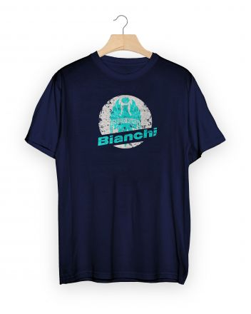 Bianchi T-Shirt Stamp - navy blue