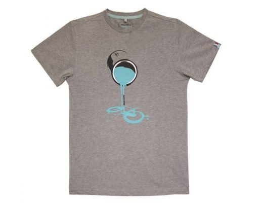 Bianchi T-Shirt Tin - grey/melange